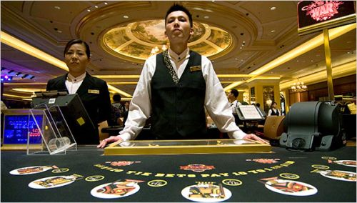 Crown Casino Dealer